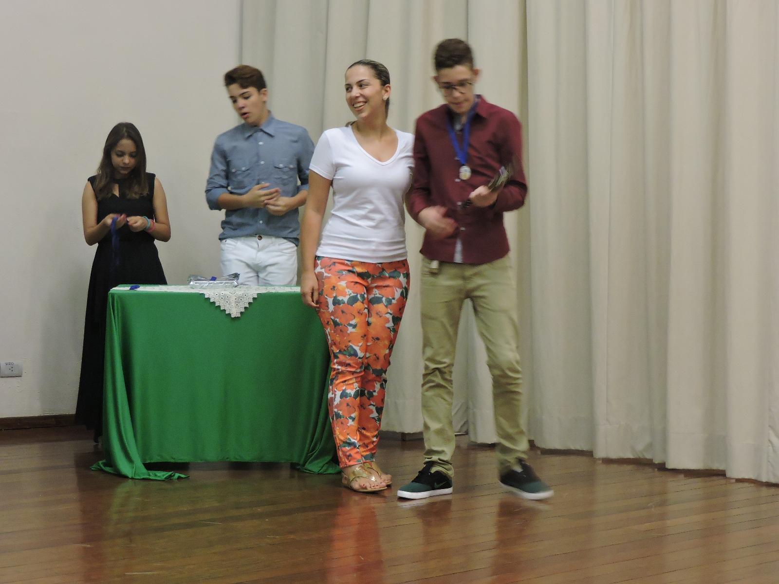 1º lugar  B interpretação - João Victor Fieri da Costa Junior - 9º FP - Prof. Rafaela